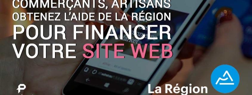 Aide de la région Auvergne Rhône-alpes à la digitalisation