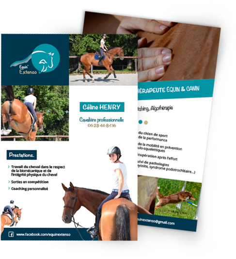 Equin'Extenso flyer