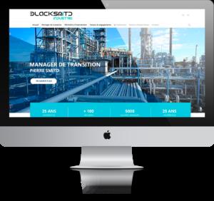 Blacksmitd industrie - Refonte de site internet